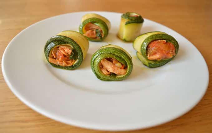 Grilled Zucchini Rolls | mygutfeeling.eu
