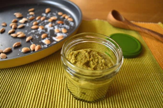 Roasted Pumpkin Seeds and Pesto | mygutfeeling.eu