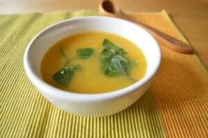 Receita de sopa low FODMAP: Creme de Legumes