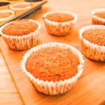 This Low Fodmap Pumkin Tangerine Muffins recipe is also vegan and gluten free!