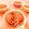 Muffins Vegan de Abóbora e Tangerina #lowfodmap #semgluten