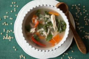 Chicken Star Noodle Soup | mygutfeeling.eu