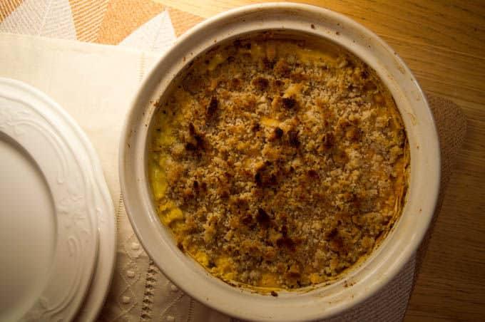 Pumpkin Millet Casserole w/ Coconut Milk & Brazil Nuts Crust | mygutfeeling.eu