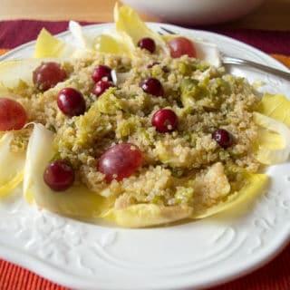 Salada de Quinoa e Endívias low FODMAP | mygutfeeling.eu