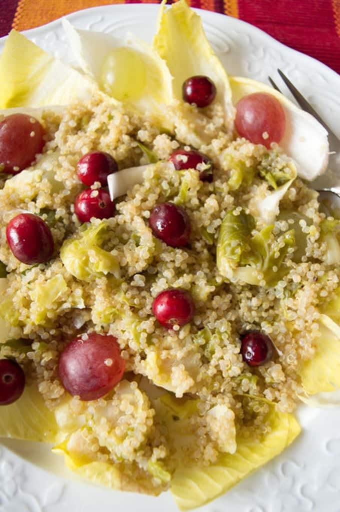 Warm Belgian Endive Winter Salad | mygutfeeling.eu