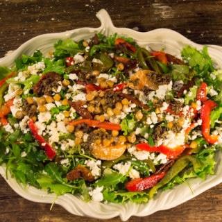 Salada Mediterrânica Low FODMAP