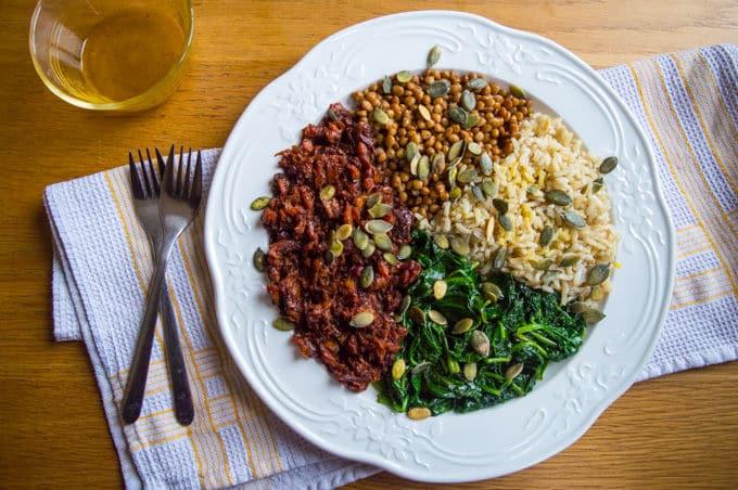 Bowl de Salada Nutritiva | mygutfeeling.eu/pt #lowfodmap #vegan