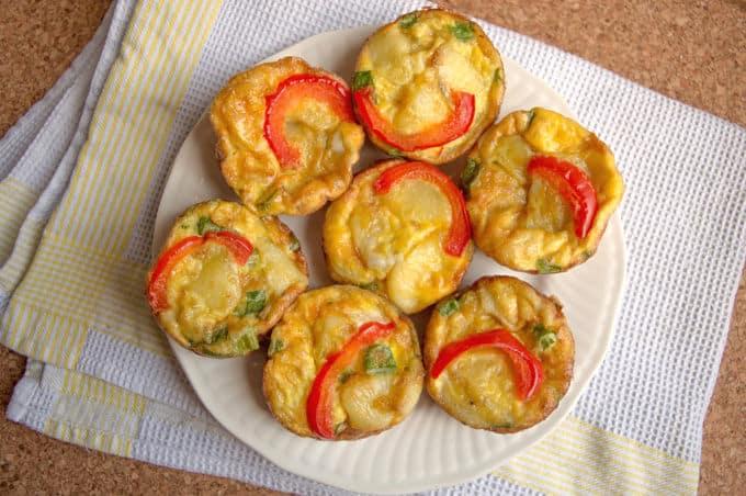 Spanish Omelette Muffins | mygutfeeling.eu