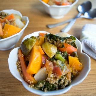 Winter Vegetables Ragout w/ Kale and Quinoa   mygutfeeling.eu