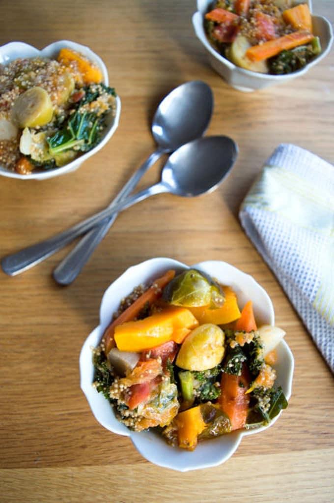 Winter Vegetables Ragout w/ Kale and Quinoa | mygutfeeling.eu
