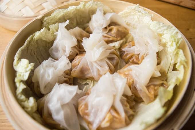 Chinese Steamed Shrimp Dumplings My Gut Feeling
