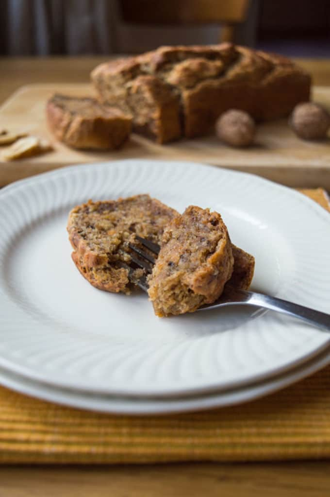 Natural Banana Bread | mygutfeeling.eu #glutenfree #vegan