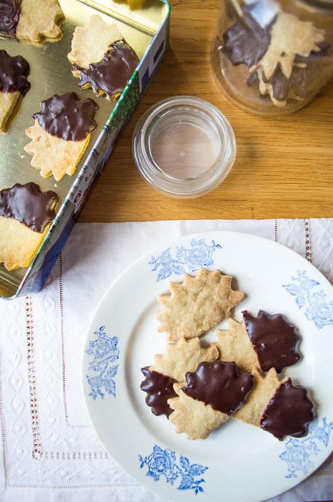Olive Oil Shortbread Cookies / mygutfeeling.eu #glutenfree #vegan