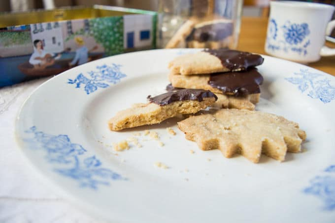 Olive Oil Shortbread Cookies / mygutfeeling.eu #glutenfree #vegan