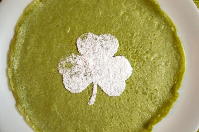 Matcha Mini Crepes #glutenfree #dairyfree