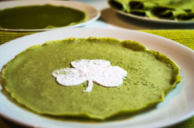 Matcha Mini Crepes #glutenfree #dairyfree