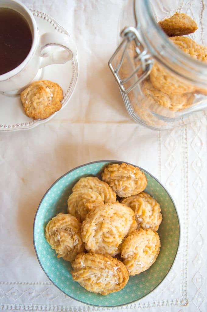Key Lime and Coconut Cookies #glutenfree #dairyfree #lowFODMAP