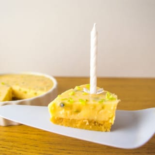 Passion Fruit and Lime Tartlets #lowfodmap #glutenfree #lactosefree