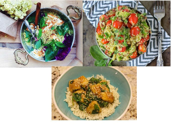 Low FODMAP Rice & Quinoa Recipes