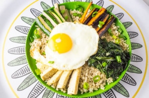 Bibimbap - Bowl de Salada Coreana