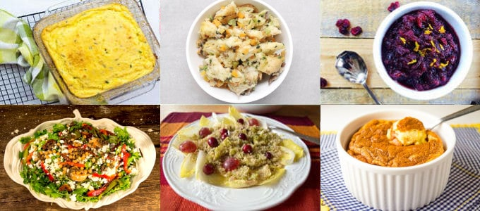 Six Low FODMAP Christmas Side Dishes Recipes