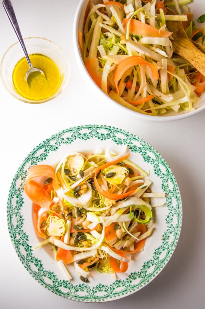 Salada de Inverno Low FODMAP I mygutfeeling.eu