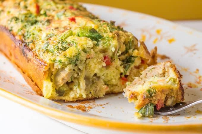 Tuna and Vegetable Loaf I mygutfeeling.eu #lowfodmap #glutenfree #lactosefree