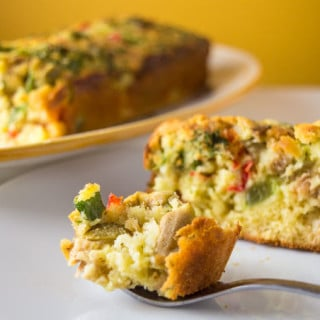 Tuna and Vegetable Loaf I mygutfeeling.eu #lowfodmap #glutenfree #lactosefree