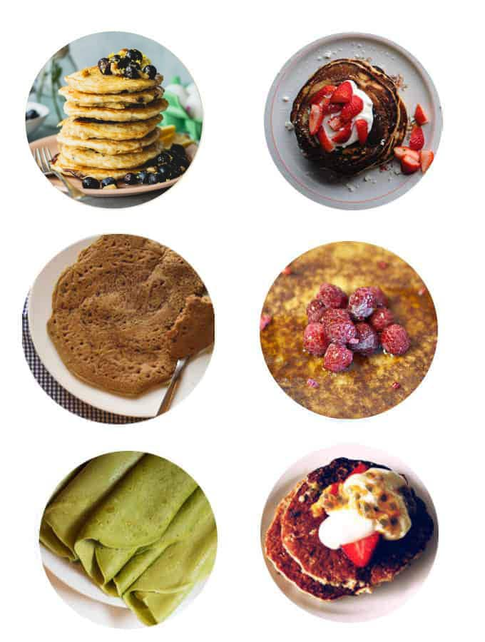 Low FODMAP Pancakes and Crepes recipes