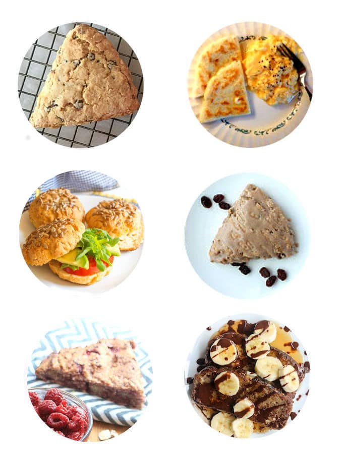 Low FODMAP Scones & Buns I mygutfeeling.eu