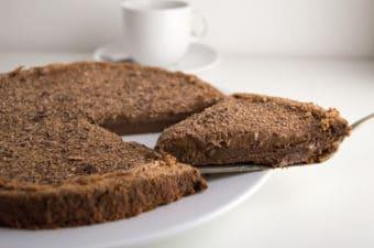Receita de bolo de Mousse de Chocolate Low FODMAP, uma delícia!