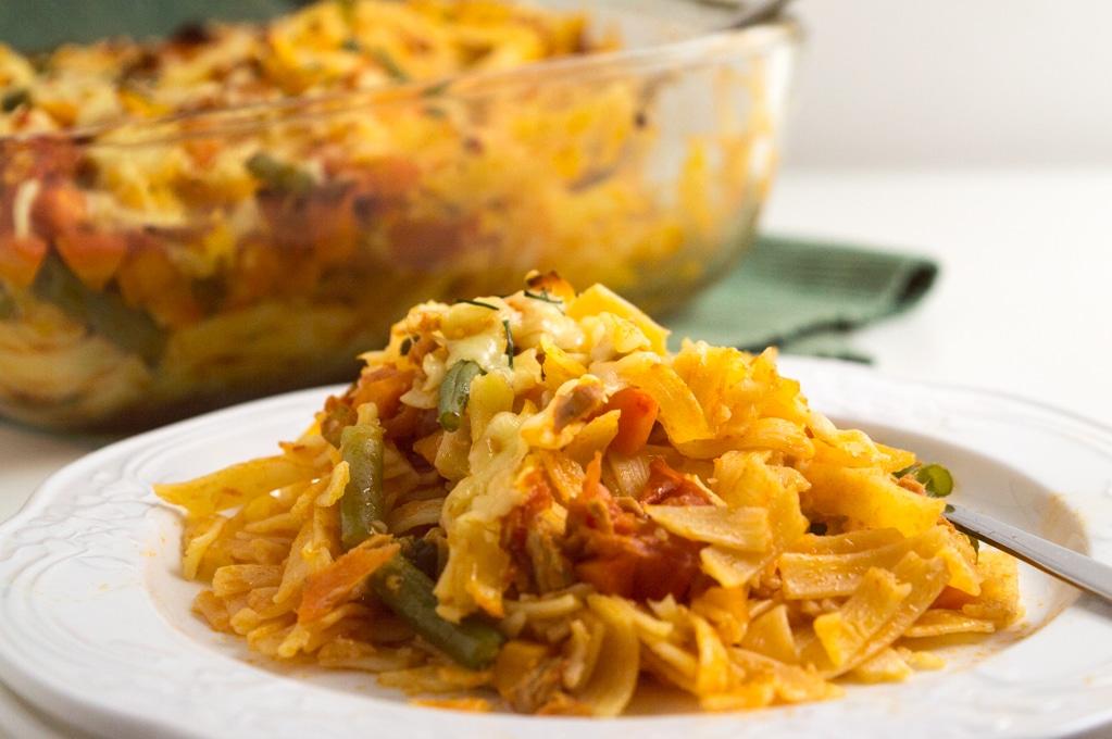 Low Fodmap Tuna Noodle Casserole