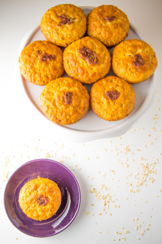 Healthy and easy Low Fodmap Banana Nut Muffins recipe