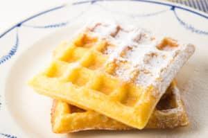 Receita fácil e deliciosa de Waffles Belgas Low FODMAP, também sem glúten