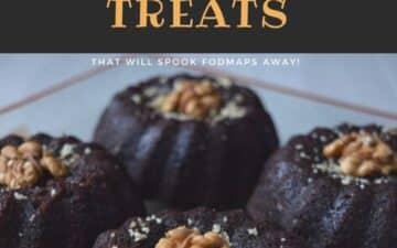 Low Fodmap Homemade Sweet Treats Recipes that will spook fodmaps away