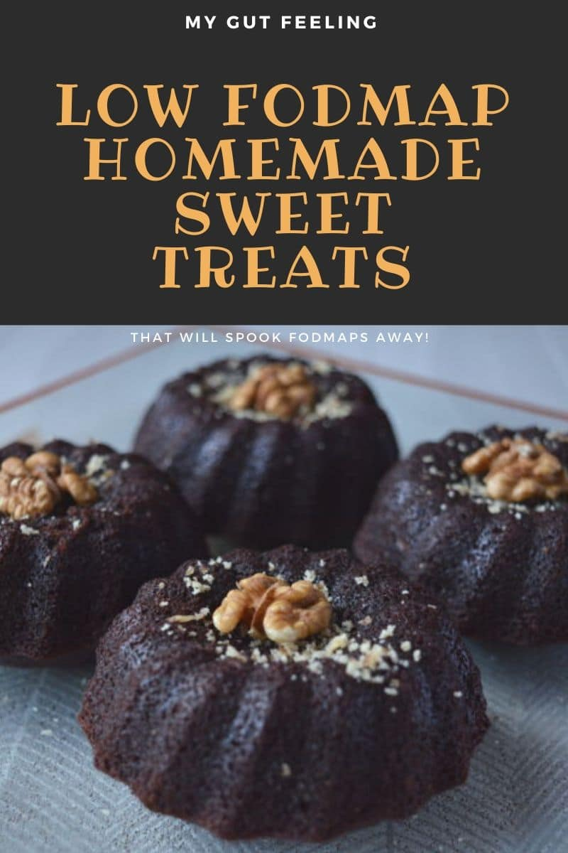 Low Fodmap Homemade Sweet Treats Recipes that will spook fodmaps away