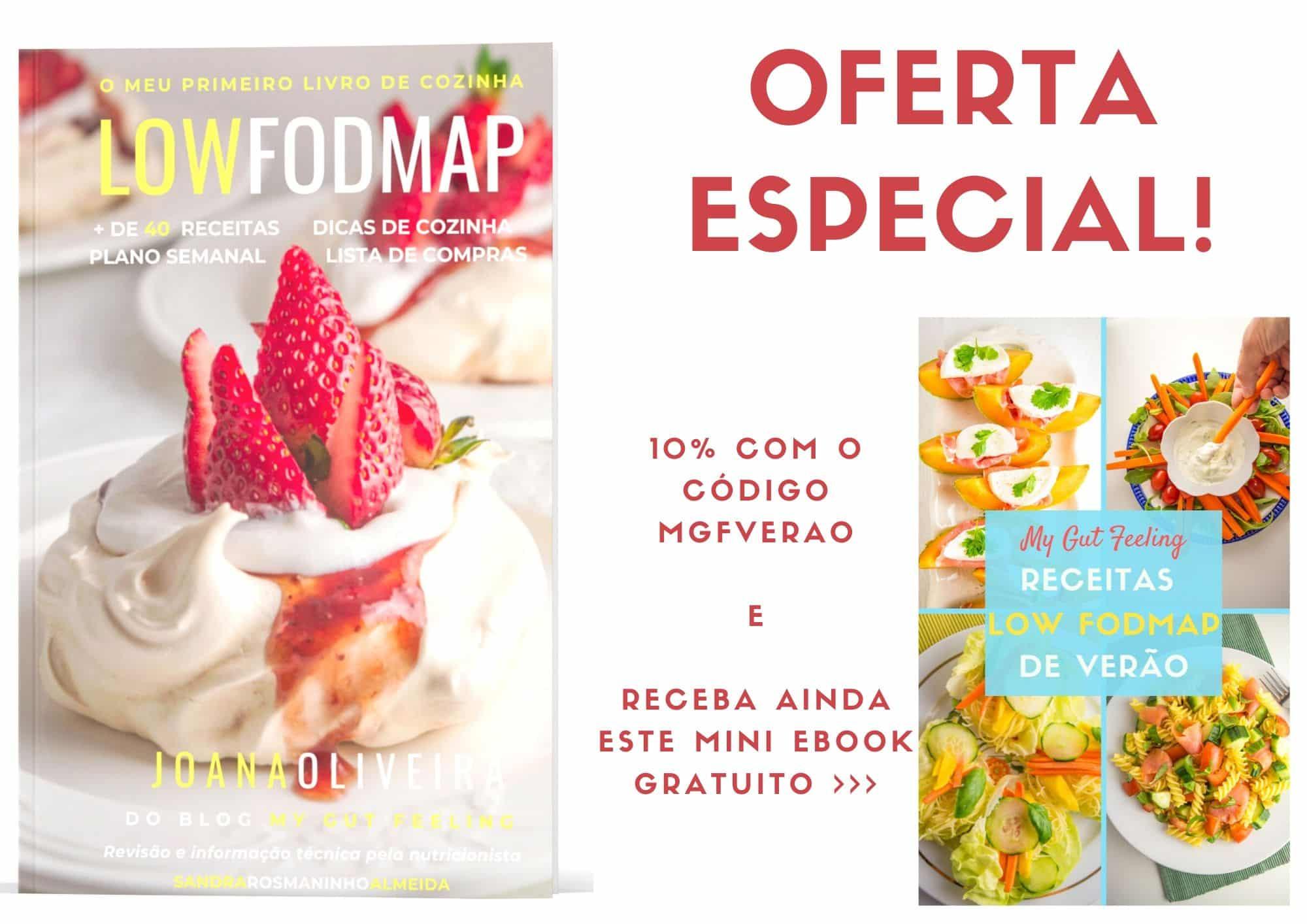 oferta especial compre o meu primeiro livro de cozinha low fodmap e receba um livro de receitas de verão